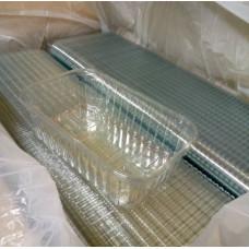 Пластиковый лоток корекс для ягод малина клубника голубика 500 г